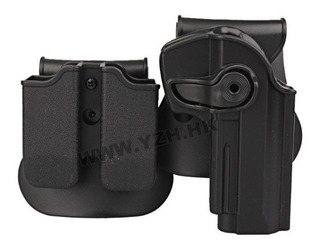 Coldre E Porta Carregador Glock 17/19/22/23/25//28/32/34 ---