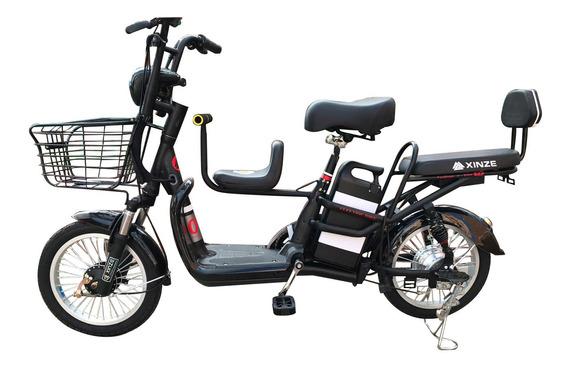 Bicicleta Electrica Tres Puestos Eb203p9