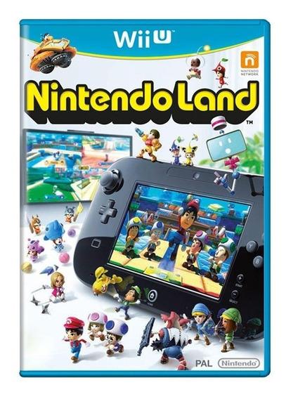 Nintendo Land Wii U Mídia Física Pronta Entrega