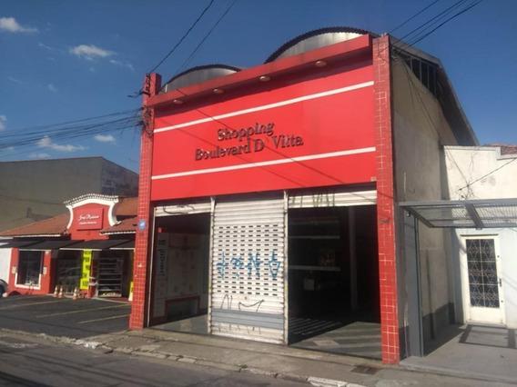 Salão Para Alugar, 35 M² Por R$ 1.000,00/mês - Centro - Guarulhos/sp - Sl0543