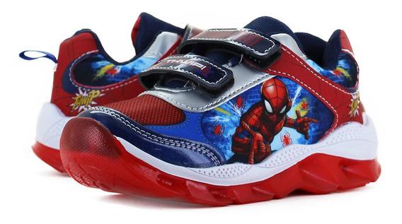 Spider Man Tenis Licencias Marino