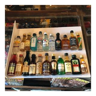 Botellas Miniatura Lote X22 Unidades