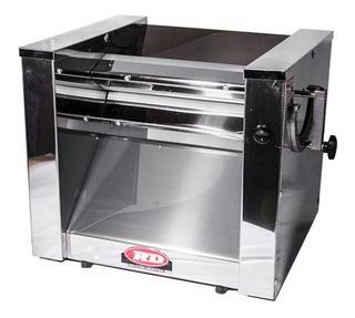Sobadora Eléctrica Rd 300 Mm Máquina De Pastas Acero Inox
