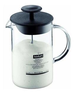 Bodum 1446-01us4 Latteo - Espumador De Leche Con Mango De Cr