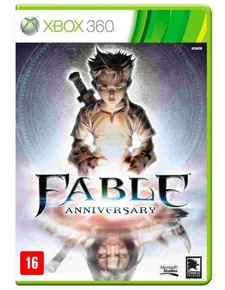 Fable Anniversary Xbox 360 Mídia Lacrado Raro Física