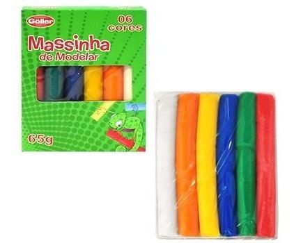 20(lápis De Cor+giz+massinhas) + 120 Lápis Grande+60 Moldes