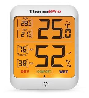 Termómetro Higrómetro Digital Thermopro Tp-53 Mide Humedad