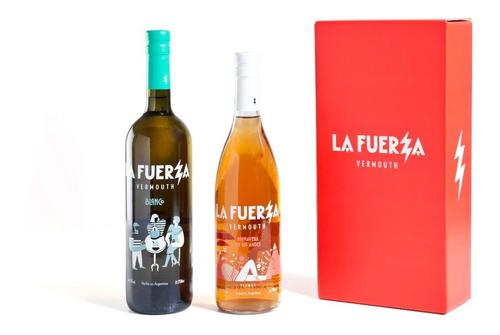Imagen 1 de 3 de Caja 2 Botellas La Fuerza Mix (1 Blanco + 1 Primavera)