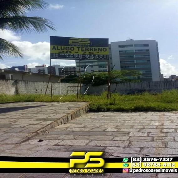 Terreno Para Alugar, 2100 M² Por R$ 25.000/mês - Jardim Oceania - João Pessoa/pb - Te0103