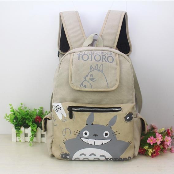 Mochila Anime Mi Vecino Totoro Con Envio