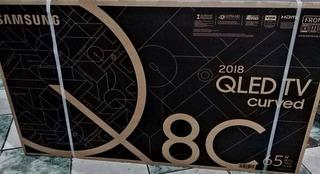 Tv Samsung 55 / 65 Qled Q6f - Q8c Curved Nuevos Sellados!