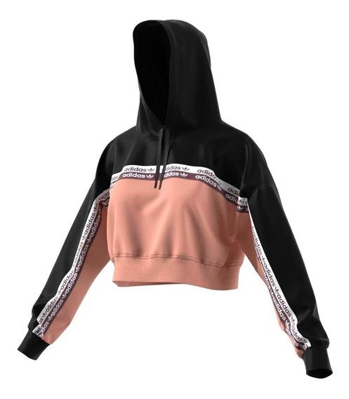 Buzo adidas Originals Cropped Hoodie Ec0766 Mujer Ec0766-ec0