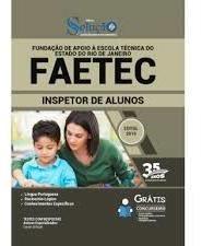 Apostila Faetec 2019 Inspetor