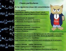 Clases Particulares Universidad, Colegios 0997837052.