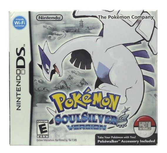 Pokémon Soulsilver Version Ds Mídia Física