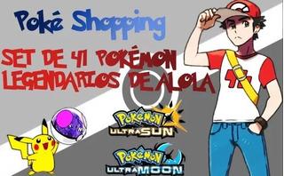 Pokémon Legendarios Competitivos Set De 41 Ultra Sun/moon