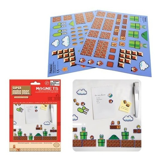 Super Mario Bros. Magnets Nuevos