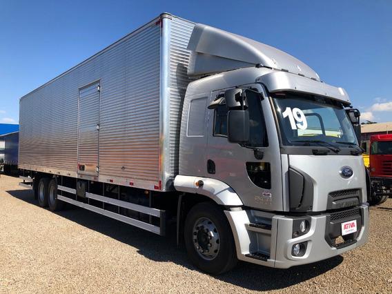 Ativa Caminhões - Ford Cargo 2431 6x2 2019/2019 0km Baú