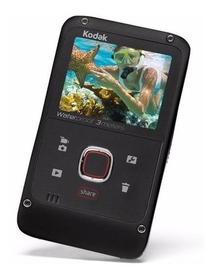 Câmera Filmadora Kodak Ze2 Hd 720p À Prova D