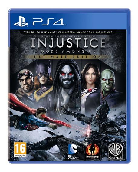 Injustice Ultimate Edition Ps4 Fisico Original Sellado Nuevo