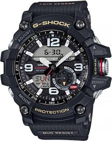 Relógio Casio G-shock Mudmaster Gg-1000-1adr Termômetro