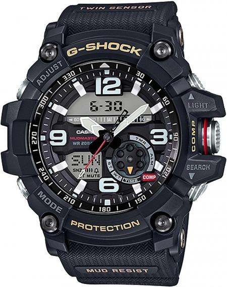 Relógio Casio G-shock Mudmaster Gg-1000-1adr Esportivo 12x