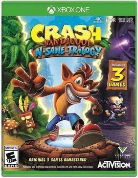 Crash Bandicoot Trilogy Mídia Digital Xbox One