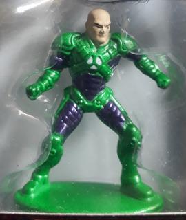 Nano Metalfigs Dc27 Lex Luthor New 52 Verde Con Morado