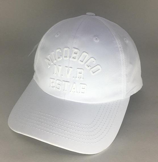 Boné Nicoboco Masculino Liso Brean Reveillon Branco 69440