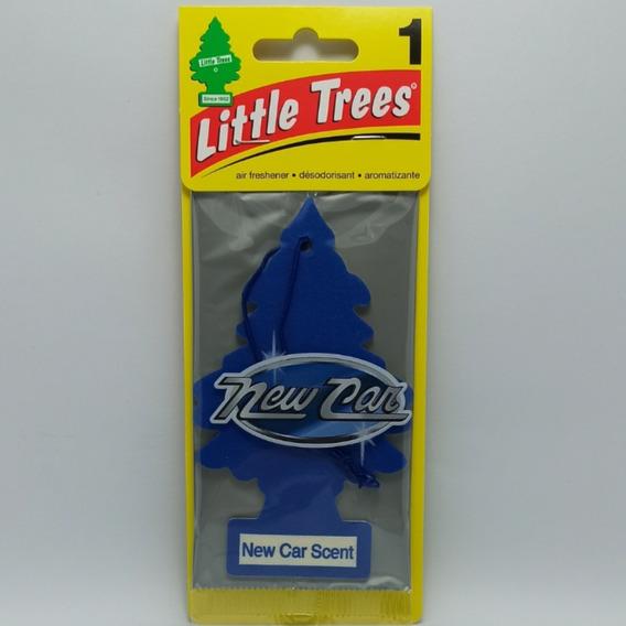 Aromatizante Para Carro Little Trees Original 03 Unidades