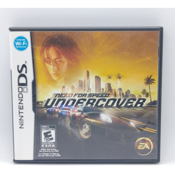 Need For Speed Undercover Nintendo Ds Midia Fisica Nds Jogo