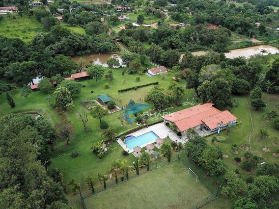 Sítio Com 3 Dormitórios À Venda, 40000 M² Por R$ 1.299.000 - Centro (são Roque) - São Roque/sp - Si0016