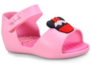 Sandália Grendene Baby Disney Minnie Fun Sorvete Rosa Fgp