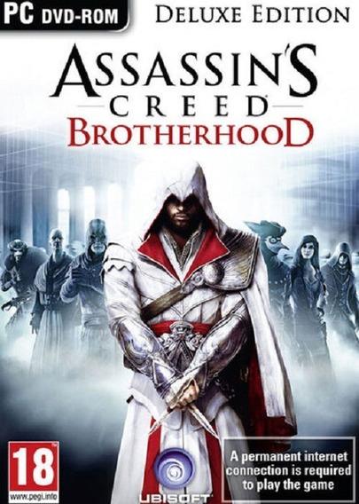 Assassins Creed Brotherhood - Pc Mídia Digital + Brinde
