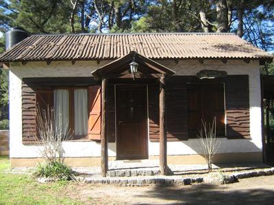 Casa Tipo Cabaña De 3 Ambientes | 1 Baño