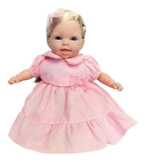 Boneca - Conversando Com A Mamãe - Vestido Rosa - Cotiplás