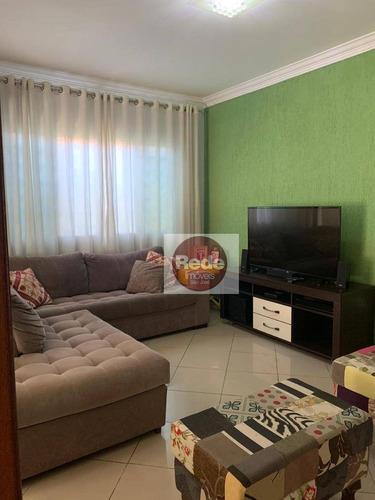 Casa À Venda, 209 M² Por R$ 580.000,00 - Santana - São José Dos Campos/sp - Ca4524