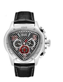 Relógio Automático Gmt Jaragar Preto Original Vidro Safira