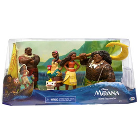 Domo Playset Disney Kit 5 Personagens Moana Sunny