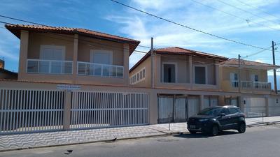 Linda Casa Sobreposta Baixa, Em Praia Grande!!! Ref 6446 L