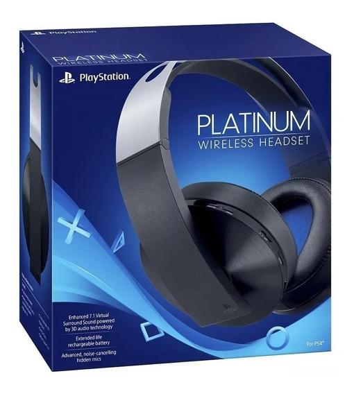 Auriculares Inalambricos 7.1 Ps4 Headset Platinum Original