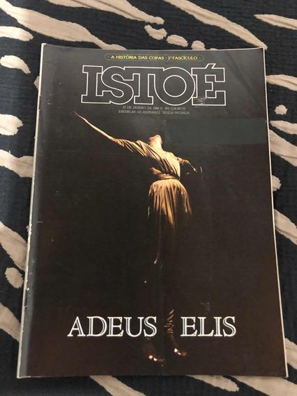 Revista Rara Istoé Ano 82 Morte E Adeus A Elis Regina