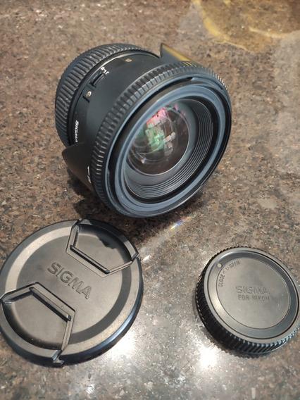 Lente Sigma 24-70mm 2.8 Nikon Para D610 D750 D7200
