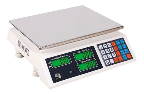 Balanza Digital 40kg Doble Visor Recargable / Tecnofactory