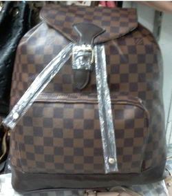 ab798947c Mochila Louis Vuitton Replica - Mochilas no Mercado Livre Brasil