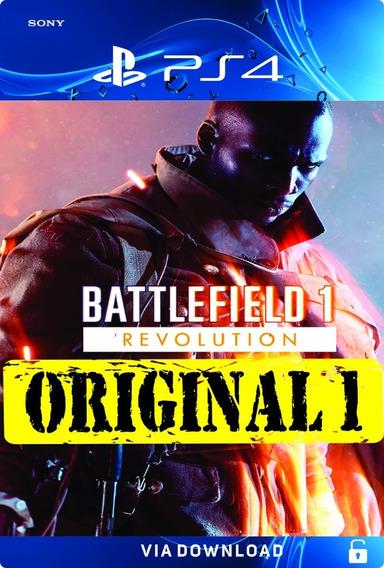 Battlefield 1 Ps4 Psn Bf1 Code 1 Pt Br Envio Na Hora!