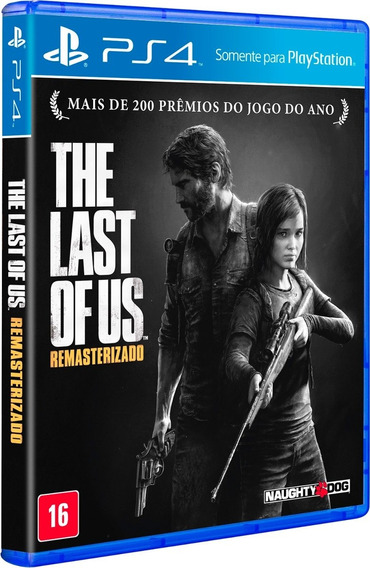 Jogo The Last Of Us Remasterizado Ps4 Midia