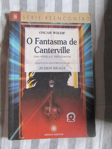 Imagem 1 de 2 de O Fantasma De Canterville (série Reencontro) Oscar Wilde