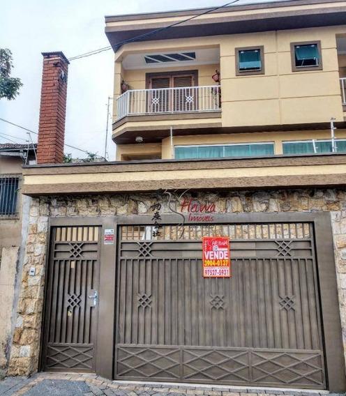 Sobrado Com 4 Dormitórios À Venda, 200 M² Por R$ 730.000,00 - Jardim São José - São Paulo/sp - So0557
