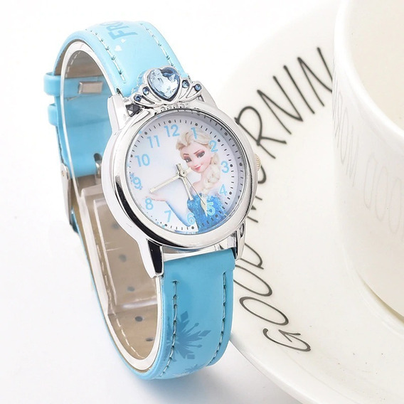 Relógio Frozen Disney Elsa Lindo - Oferta